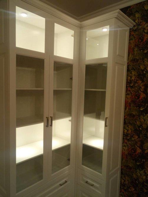 Угловой шкаф в гостиную цена, заказать в Астрахани
