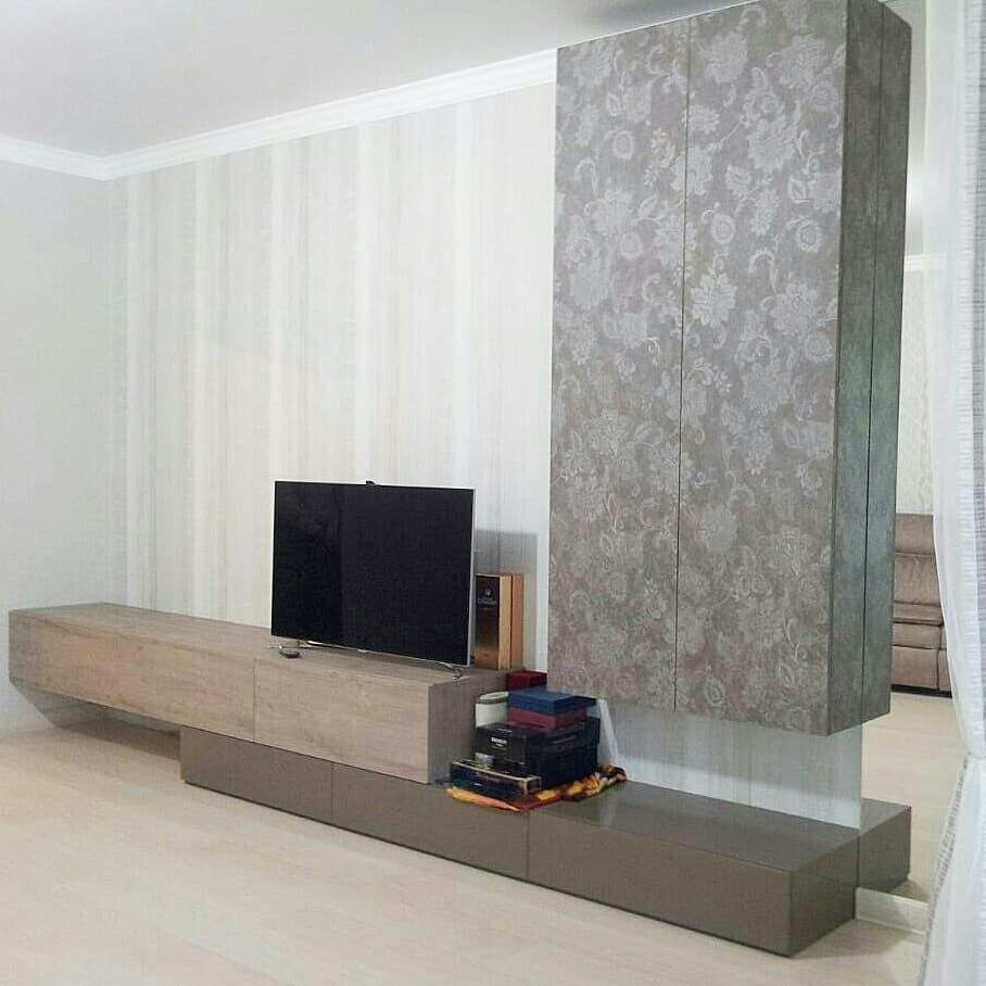 Стенка горка в гостиную под телевизор заказать в Астрахани