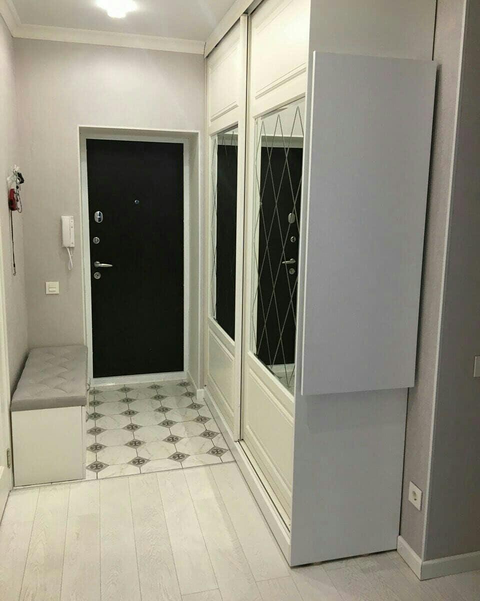Белый шкаф-купе в прихожую цена, заказать в Астрахани