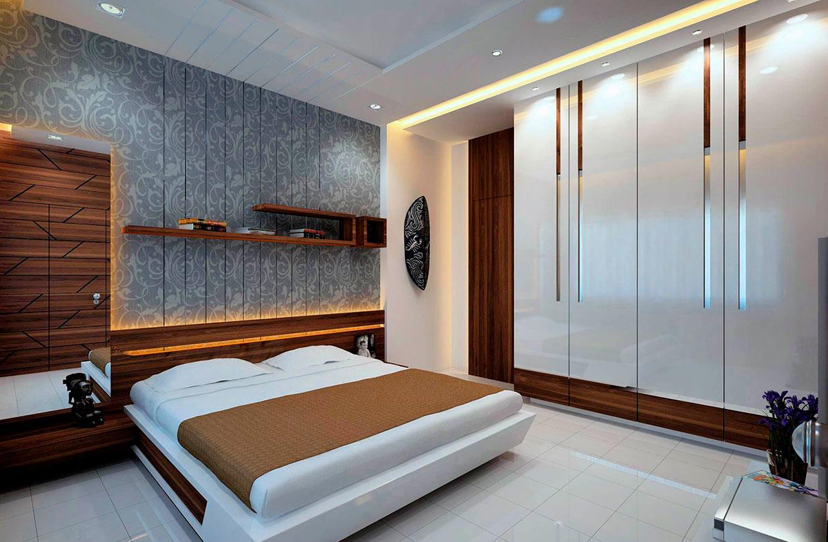 Шкафы-купе в спальню на заказ в Астрахани