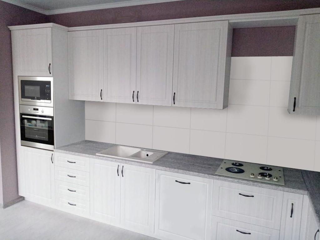 кухня под белое дерево