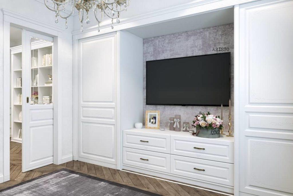 мебель для квартиры в классическом стиле