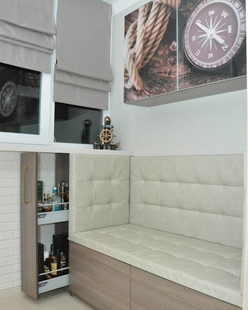 мебель на лоджию на заказ