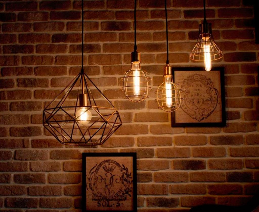 освещение в стиле Лофт