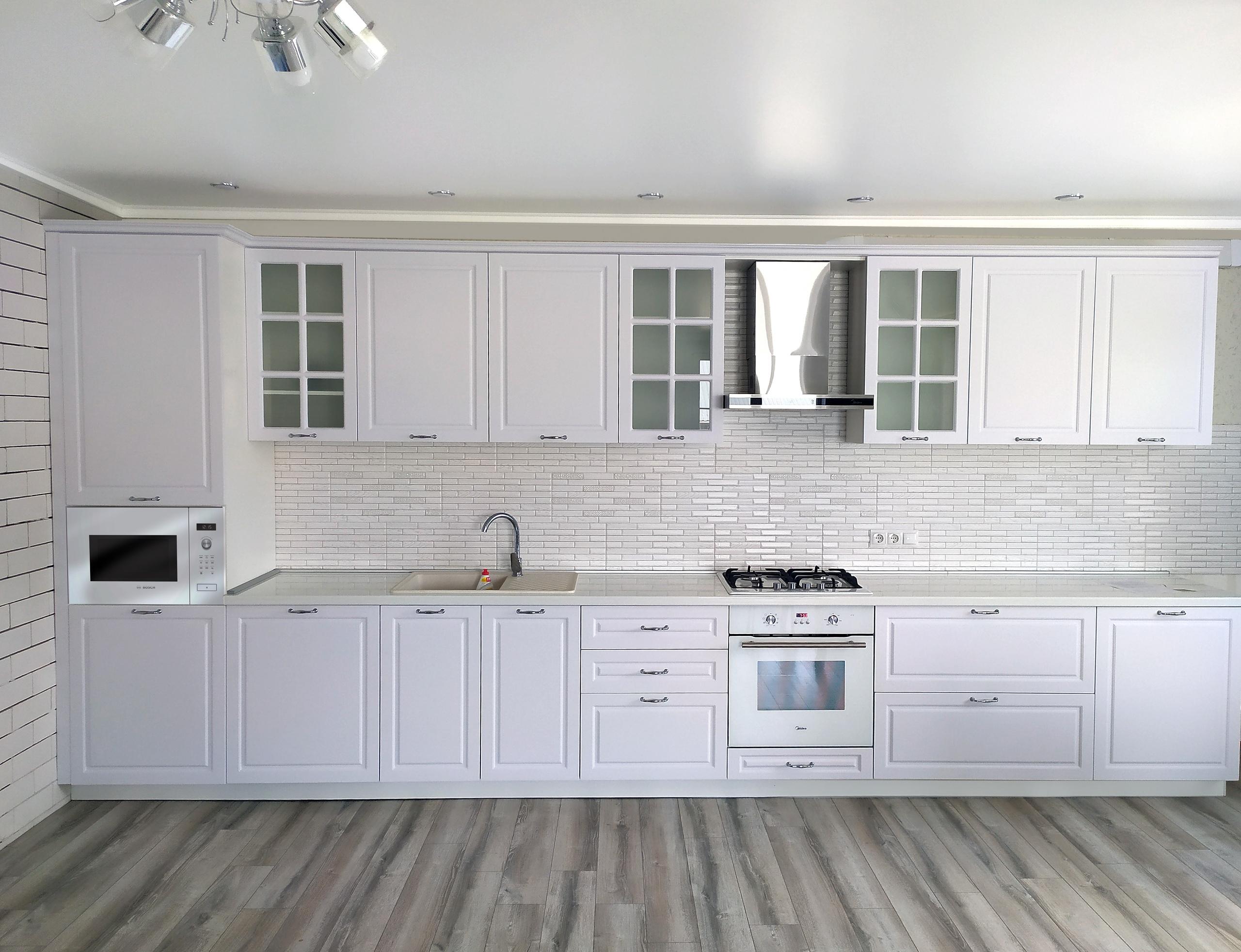 Прямой кухонный гарнитур 5 м