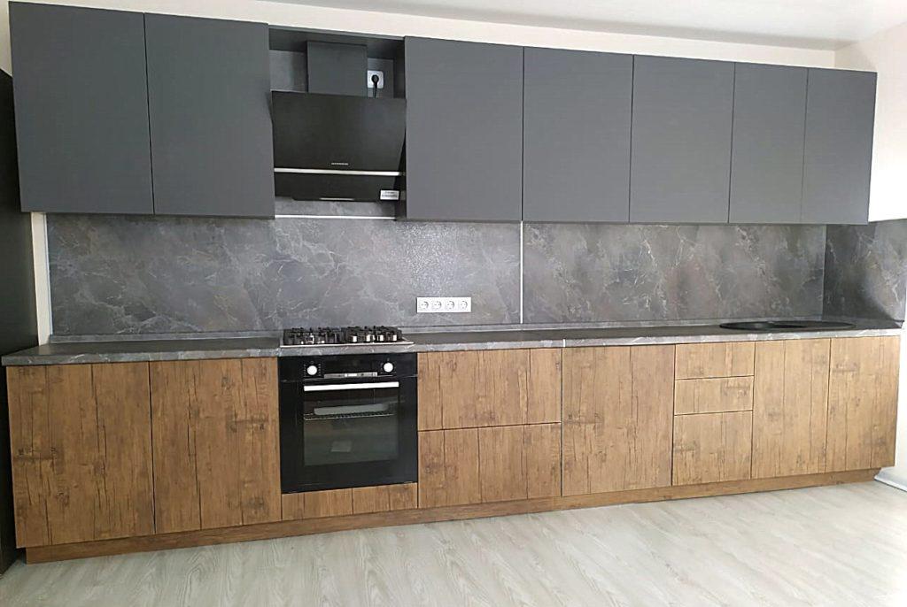 кухня прямая 5 метров