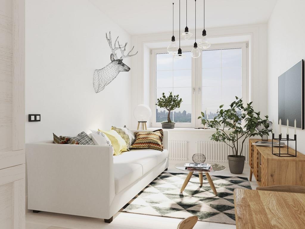 cпальня в Скандинавском стиле