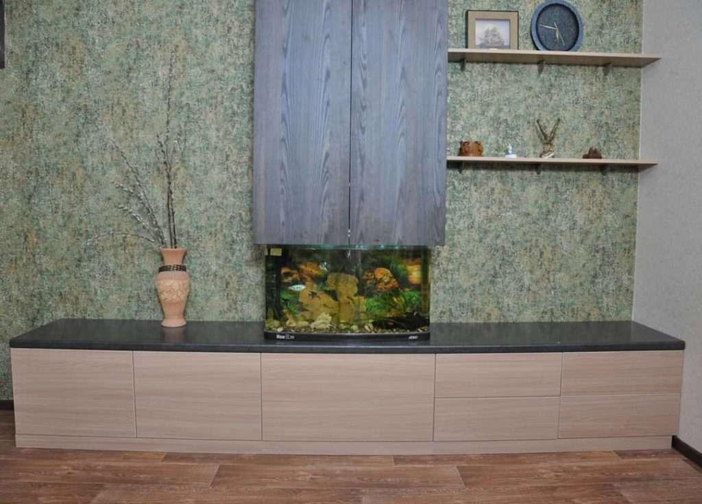 тумба и шкаф под аквариум